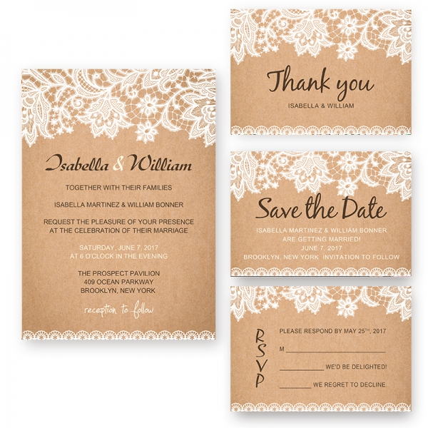 Chic Rustic White Floral Fall Wedding Invitation WIP002 Home