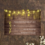 Cheap Wedding Invitations Mason Jar Floral, Rustic Wedding Invitations, Thank you Cards, RSVP Cards, Fall/Winter  WIP010