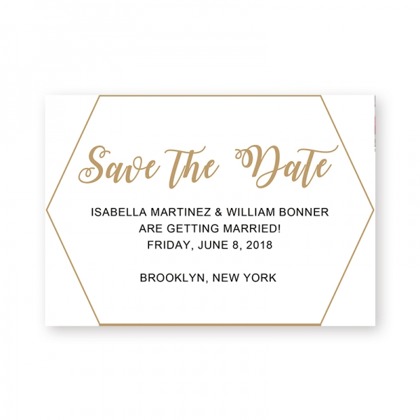 Printable Modern Simple Wedding Invitation WIP057 Wedding