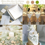 Ivory Floral Laser Cut Wedding Invitations with Gold Glitter Belly Band and Personalised Tag, Elegant Wedding Invitations, Spring Wedding Colors, Thank You Cards, RSVP Cards WS010