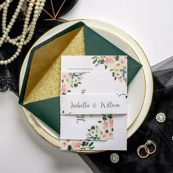 /1067205-2798-thickbox/watercolor-floral-wedding-invitations-with-belly-band-emerald-envelops-with-gold-glitter-lining-emerald-green-wedding-invitations-luxury-wedding-invitations-classic-custom-wedding-invitations-affordable-rsvp-cards-thank-you-cards-ws038.jpg