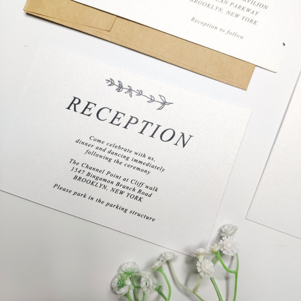Gallery Minimalist Wedding Invitations: Rustic And Minimalist Invite, Simple Modern Wedding