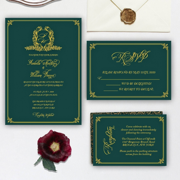 /1067401-3782-thickbox/cheap-emerald-green-and-gold-invite-royal-wedding-invite-classic-vintage-fall-winter-spring-ws139.jpg
