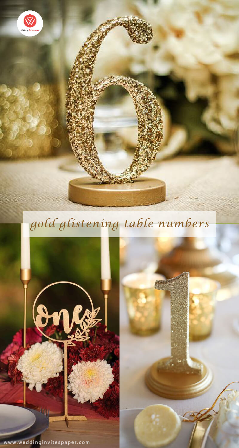 4. gold glistening table numbers.jpg