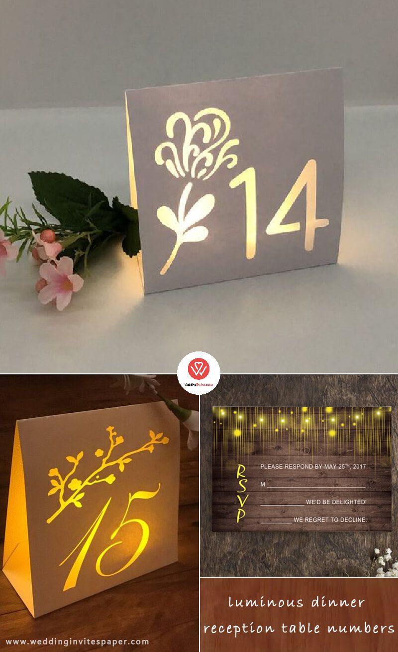 5 luminous dinner reception table numbers.jpg