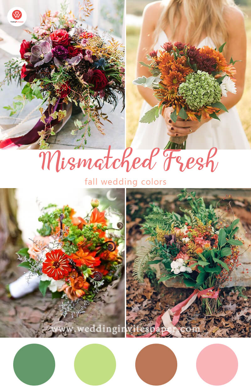 6. Mismatched Fresh Accent fall wedding colors.jpg