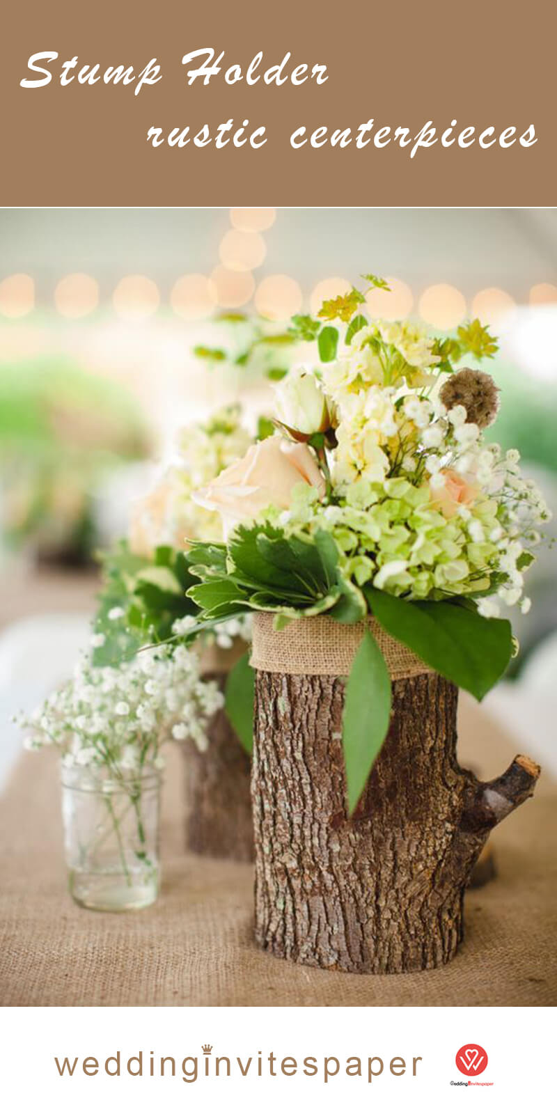 19 Stump Holder rustic centerpieces.jpg