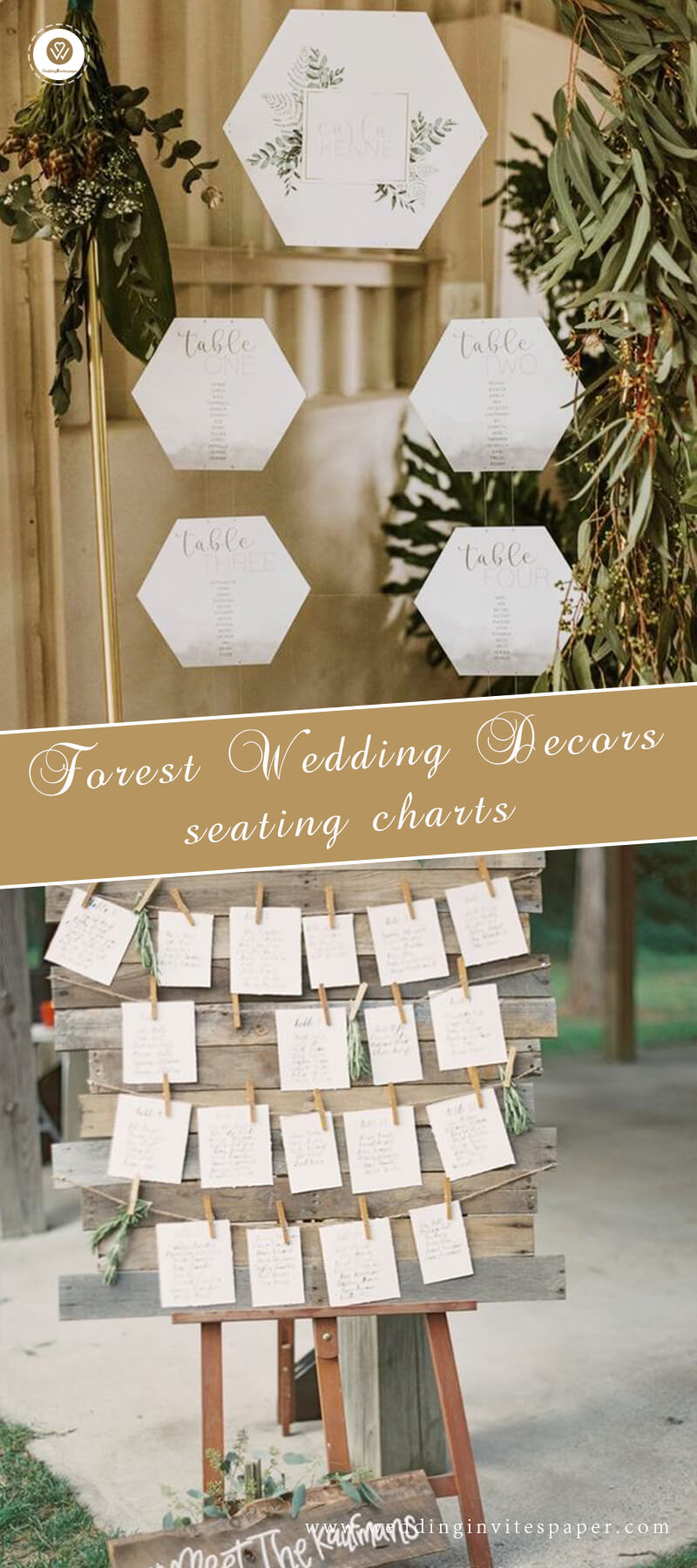 Forest Wedding Decors seating charts.jpg