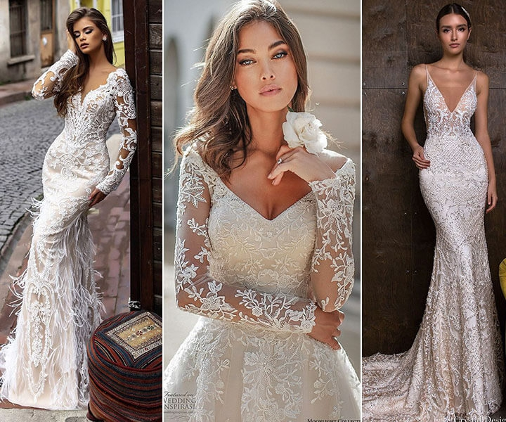 45 Lace Wedding Dresses That You Will Absolutely Love