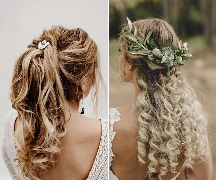 17 Enchanted Rustic Wedding Hairstyles: How to Become Really Country Girls