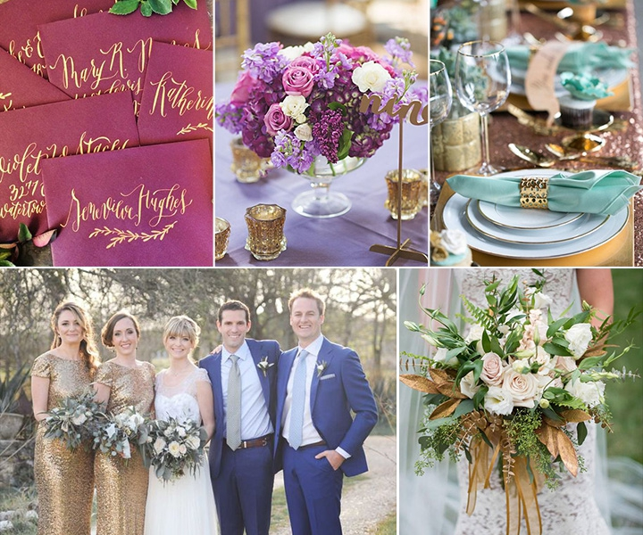 100 + Must Have Gold Color Palettes to Wow Your Guests
