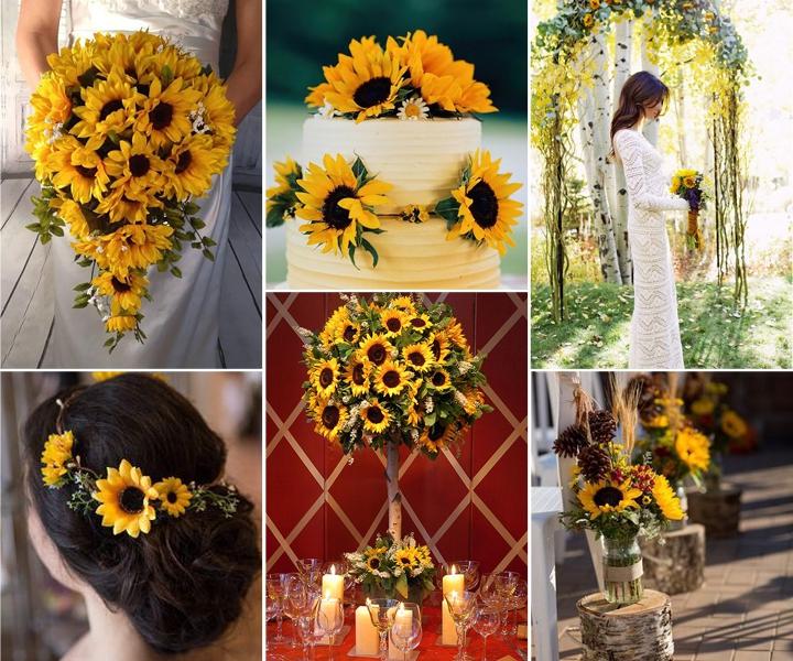 50+ Inspirational  Sunflower Wedding Ideas for 2019