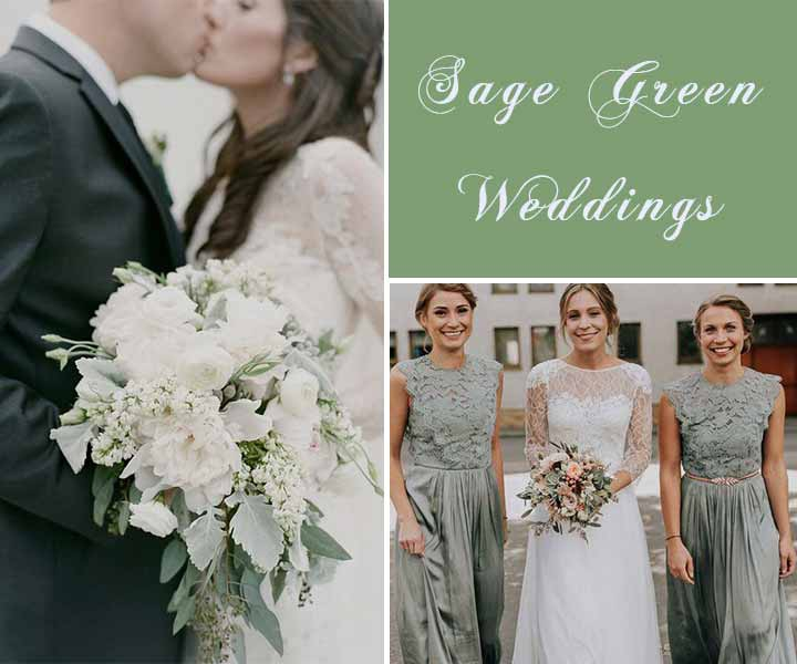 Sage Green Weddings-Top 7 Color Palettes for a Memorable Winter Day