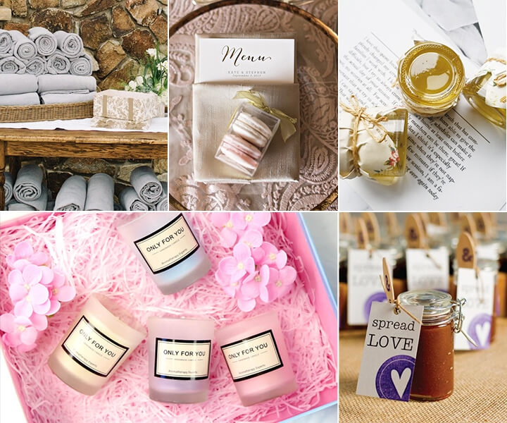 How to pick meaningful and cheap wedding favors-19 real templates
