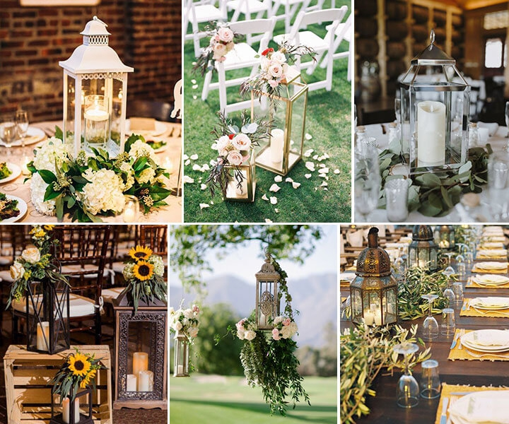 65 Best Wedding Decorations Ideas Used with Lanterns