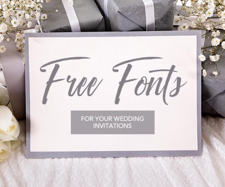 Ultimate Handwriting Examples—12 Free Fonts for your Wedding Invitations