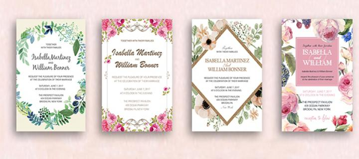 When Should Invitations Be Sent Out For A Wedding: Wedding Invites Paper