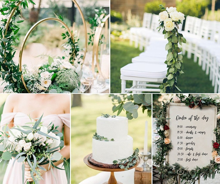 9 Stunning Greenery Wedding Ideas to Have a Budget Friendly Wedding