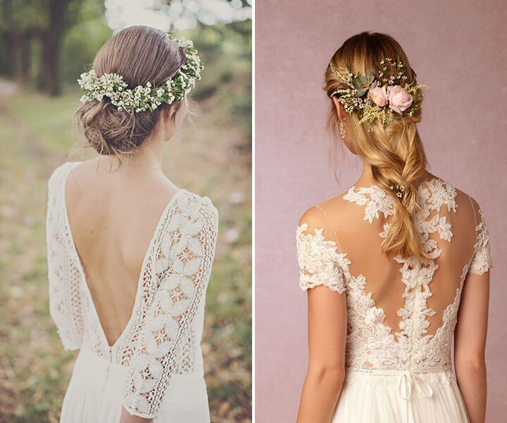 55+ Glamorous Wedding Hairstyles for Spring-Time Brides