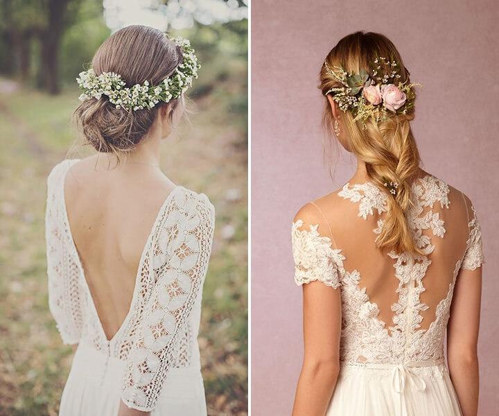 55+ Glamorous Wedding Hairstyles for Spring-Time Brides