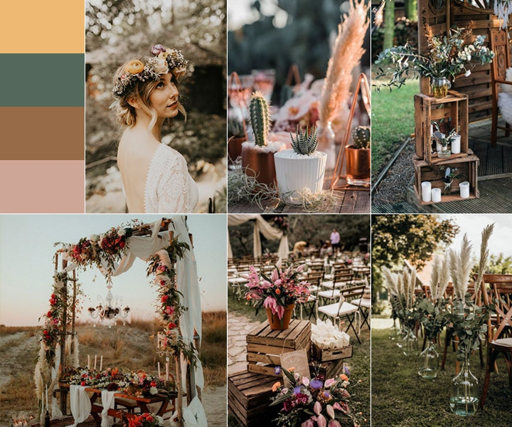 Top 11 Most Glamorous BOHO Wedding Ideas to Blow Your Mind