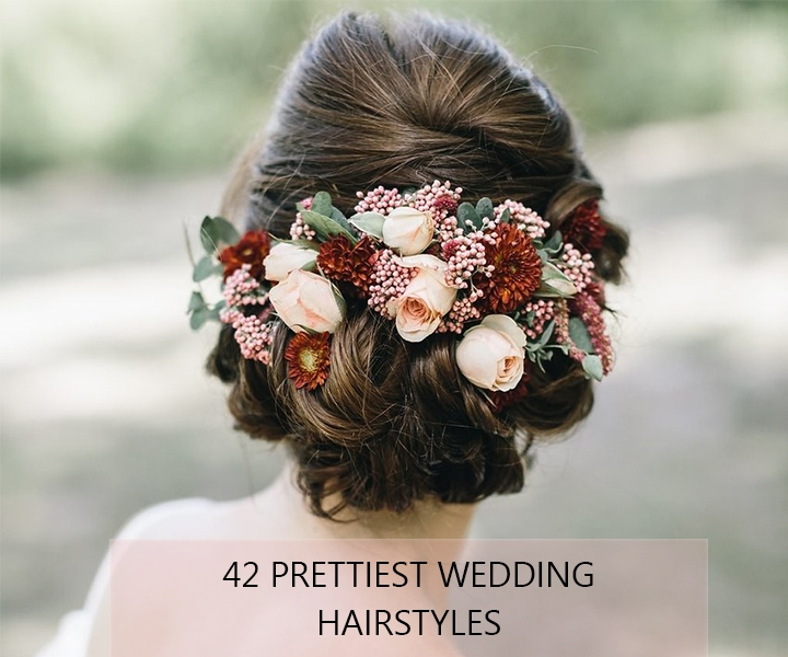 42 Gorgeous Wedding Hairstyles Ideas to Inspire Your Wedding Day