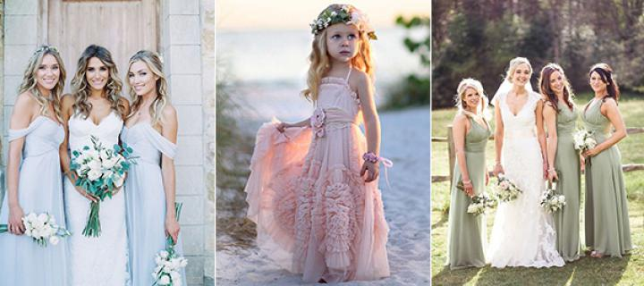 WEDDING COLOR: PRETTIEST 2018 SPRING COLOR PALETTES INCORPORATED ...