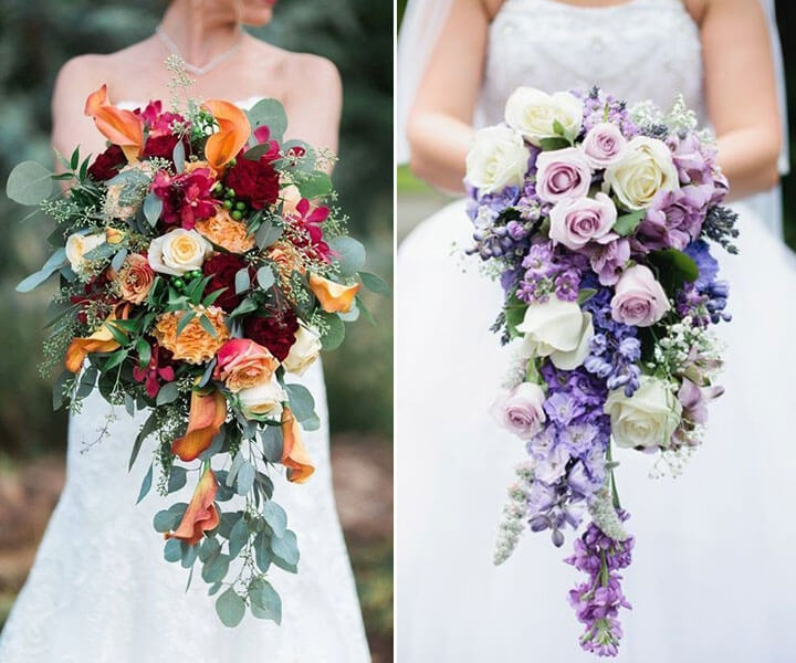 23 Most Incredible Cascading Wedding Bouquet Ideas