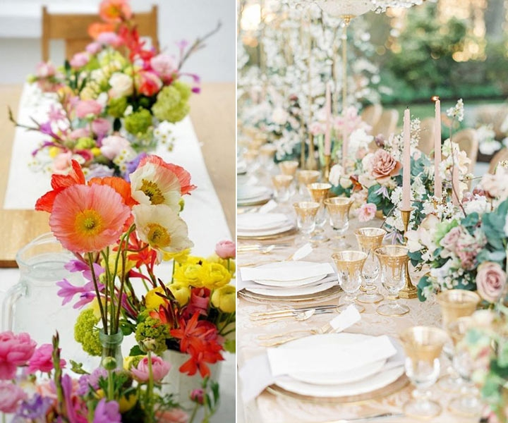 29 Pretty Spring Wedding Centerpieces We Love