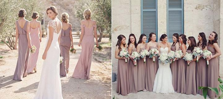 2018 stylish prettiest wedding color trend shade of mauve hi brides to be have you already prepared to create stylish and gorgeous wedding ceremony in 2018 still confused in the color combos junglespirit Choice Image