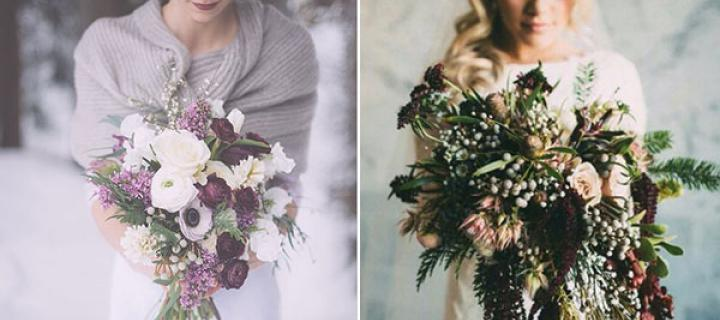 winter rustic wedding ideas