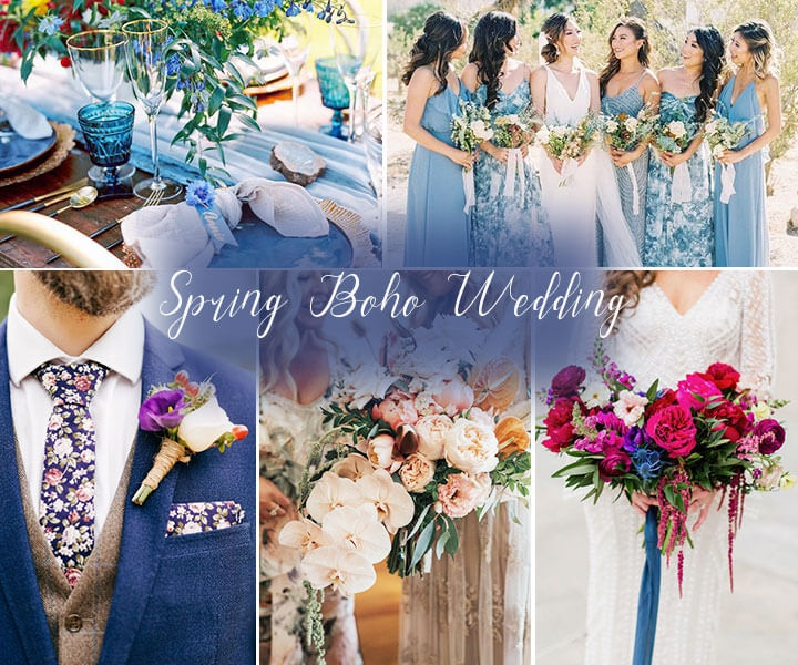 40+ Spring and Summer BOHO Wedding Ideas for 2020 Trends