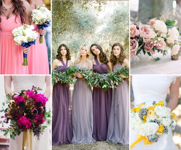 Top 8 Amazing Wedding Color Combos to Steal in Spring 2019